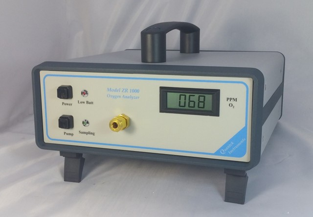 ZR1000 oxygen analyzer ppm